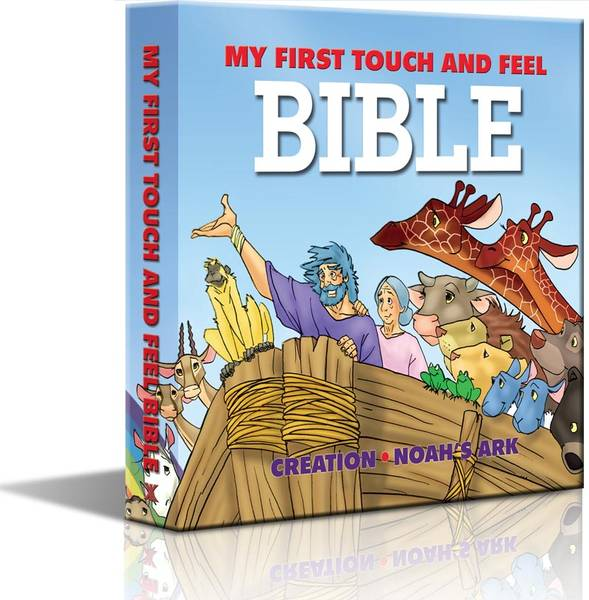 My First Touch & Feel Bible (Prima Mea Biblie Atinge si Simte)